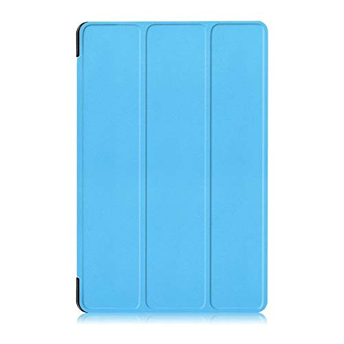 Slim Case Cover For Samsung Galaxy Tab A 10.1' With S Pen SM-P580 Tablet(Sky blue)