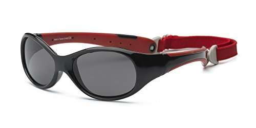 real-kids-4expbkrd-explorer-kindersonnenbrille-flexible-passform-grosse-4-schwarz-rot