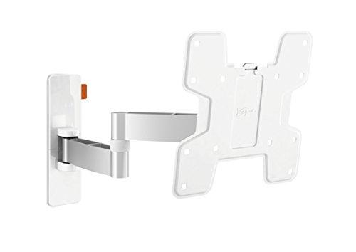 Vogel's Wall 2145 TV-Wandhalterung für 48-104 cm (19-40 Zoll) Fernseher, 180° schwenkbar und neigbar, Max. 15 kg, Vesa Max. 200 x 200 mm, Weiß