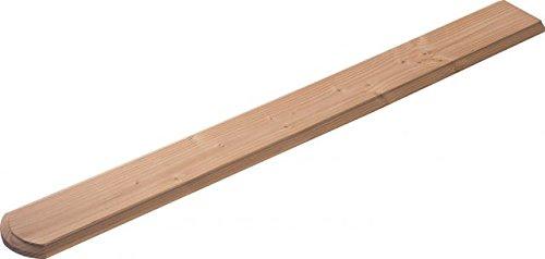 Zaunlatten für Holzzaun/Balkonbrett für Holzbalkon (5 Stück) - Douglasie - 4089/8 DO (18x1050x115mm)