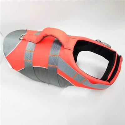 MGRJ Dog Life Jacket Weste Saver Sicherheit HighElastic Oxford Tuch Badeanzug mit 3 MM Reflektierenden Streifen Hund Einstellbarer Erhaltungsgürtel 806 Oxford