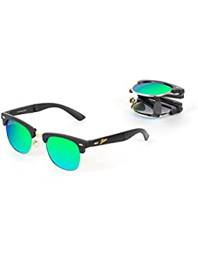Gafas de sol plegables Folders Style Graphite Green