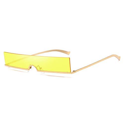 Whycat sonnenbrille damen retro Performance Style Verspiegelte Sonnenbrille Futuristische, einfarbige, übergroße Sonnenbrille mit Cyclops/Visier(B)