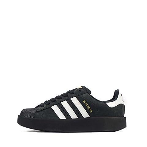 adidas Originals Superstar Bold Damen Schuhe - Schwarz/weiß, EU 38