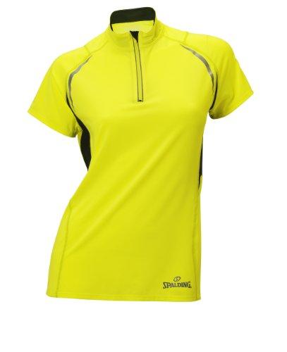 Spalding - T-shirt de sport - Femme Jaune - Night Yellow
