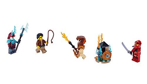 bekannt Movie Ninjago 40342 Minifiguren Set - mit Pyro-Verwüster & Bogenschütze