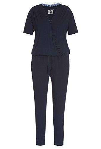 FRAPP Plus Size - Overall für Damen Große Größen,Jumpsuit,Frauen,lang,kurzarm (Overall Plus Für Size)