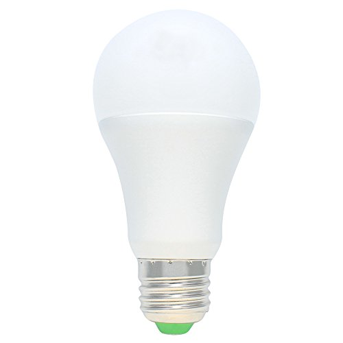E27 Fassung 7W LED Lampen mit Dämmerungssensor Nachtlicht LED Birnen Lichtsensor Warmweiß für Korridor, Weg, Treppe, Garten, Hof