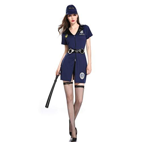 Klume poliziotta unificata festa di halloween giochi divertenti di coppia in costume da poliziotta costume da bar performance