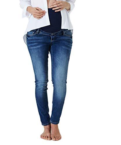 Christoff Designer Umstandsjeans Vintage extra extralang Damen Straight Leg Jeans Gr. 46/Length: 36 Designer-baby Jeans
