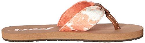 Reef - Little Scrunch Tx, Sandali Unisex – Bimbi 0-24 Arancione (Naranja (Coral Tye Dye))