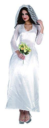 1 Braut der Königsfamilie Kostüm, Multicoloured, Frauen: 38-42 ()