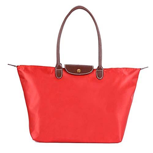 für Damen aus Nylon, Schultertasche Tasche Frauen Stilvolle Wasserdichtes Handtasche Umhaengetasche Strand Tasche ()