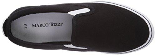 Marco Tozzi 24611 Damen Slipper Mehrfarbig (Black Comb / 98)