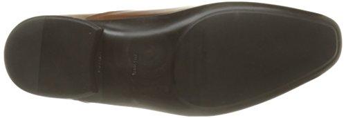 Azzaro Outino Herren Schnürhalbschuhe Braun - Braun (Cognac)