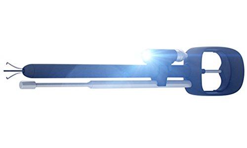 Preisvergleich Produktbild ODii Ausziehbares magnetisches Abholentool & Schnappen-Gadget für Auto, Heim und Arbeit | Starke Klaue, Magnet und LED Licht | 2016 National Hardware Show Preis Gewinner