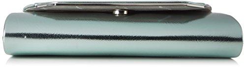 Tamaris Damen Grazia Clutch Bag, 5,5x11x24 cm Grün (Mint)