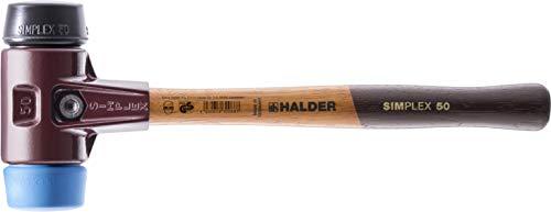 SIMPLEX-Schonhämmer, mit Stahlgussgehäuse und hochwertigen Holzstiel | Ø=50 mm | 3012.050