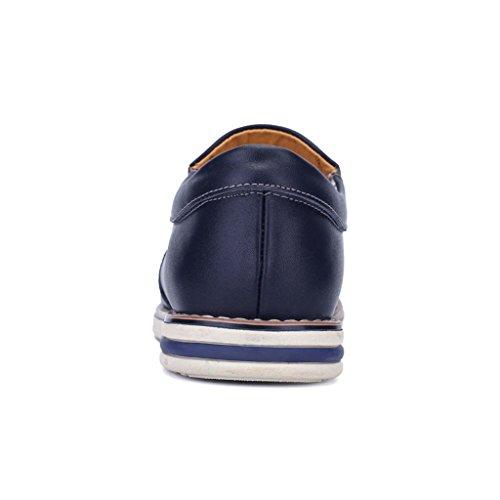 ZXCV Scarpe all'aperto Scarpe da Uomo Pelle Scarpe Uomo Comfort Comfort Uomo Blu