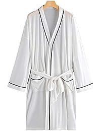 Los Hombres de la Moda Vestido de Bata de Manga Larga Vestido de Kimono Bata de