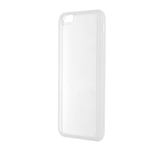 Generic Anti Gravity Silikon Handyhülle Handytasche Handy Schutzcase für iPhone - Für Iphone 7 Grau Für Iphone 6 / 6s Plus Klar