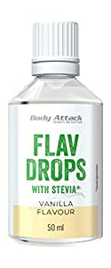 Body Attack Flav Drops Stevia (Vanilla)