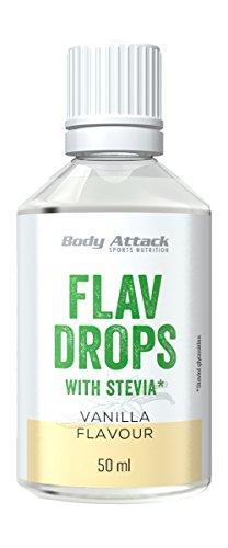 Body Attack Flav Drops Stevia (Vanilla)