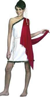 Griechische Fancy Römische Kostüme Dress (Römisch-griechische Göttin Kostüm, Einheitsgröße)
