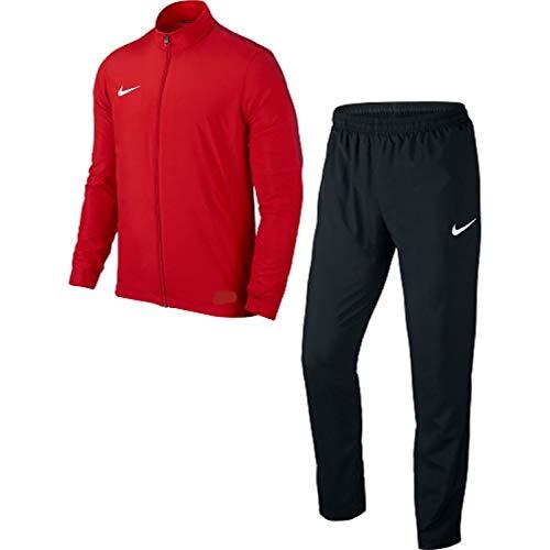 Nike Tuta da Ginnastica Manica Lunga Uomo Red/Black 2XL