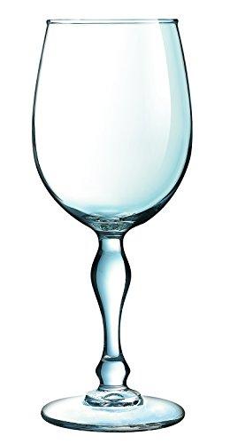 f2b245c1e86 Luminarc 8011480 Charms Verres à Pied Sodo Coupe à Chaud Transparent 36 Cl  - Lot de