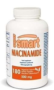 Supersmart - Vitamines - Niacinamide - Contenance: 400 ml. (7,25 cm x 13 cm)