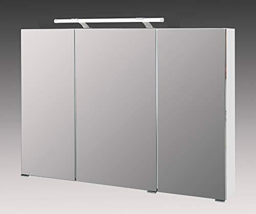 Schildmeyer Spiegelschrank weiss, 100 x 16 x 71 cm - 3