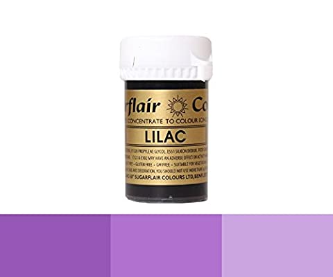 Sugarflair Concentrated Food Colouring Paste Gel Colours (Spectral, Pastel & Tartranil) - 25g-Spectral