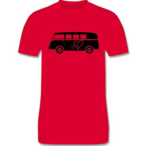 Autos - Bus T1 - Herren Premium T-Shirt Rot