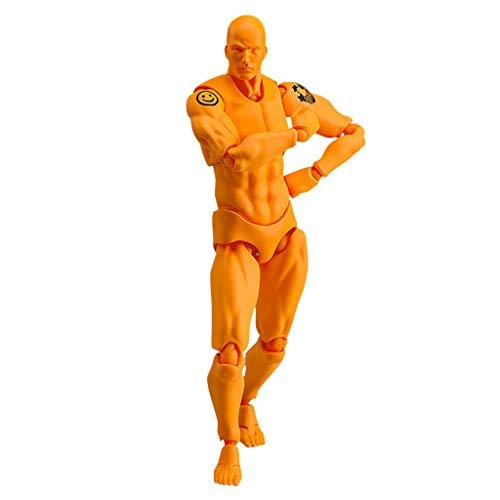 Aktion Kostüm Frau - TianranRT Figuren Für Künstler Aktion Figur Modell Mensch Schaufensterpuppe Mann Frau Kits (E,E)