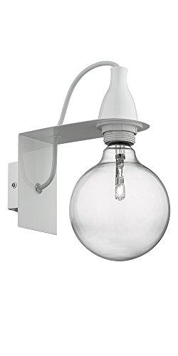 Ideal Lux Minimal AP1 Lampada, Bianco