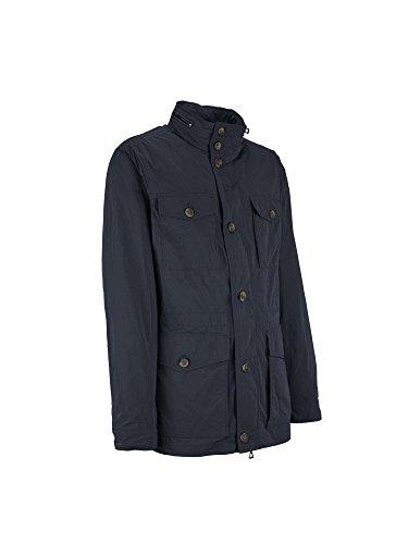 Geox Man Jacket, Blouson Homme Bleu
