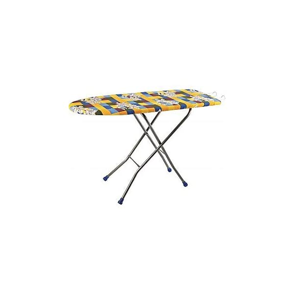 Anva Folding Ironing Board with Press Holder Stand (48 X 18-inch)