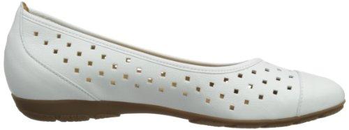 Gabor Shoes 64.169.13, Ballerines femme Blanc