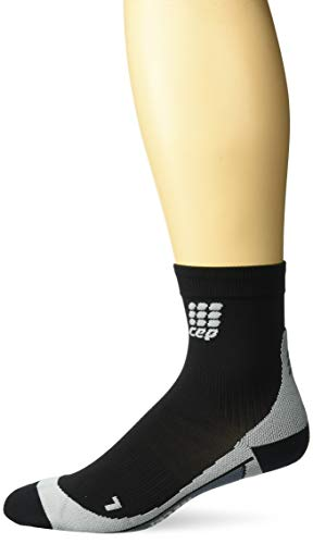 CEP Herren Kompressionsbekleidung Dynamic Short Socks, Black/Green, V