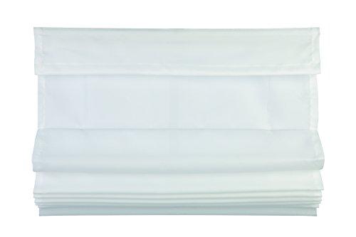 Mydeco 65813–tenda avvolgibile pieghevole klemmfix mood–, 50x 130cm, colore: bianco