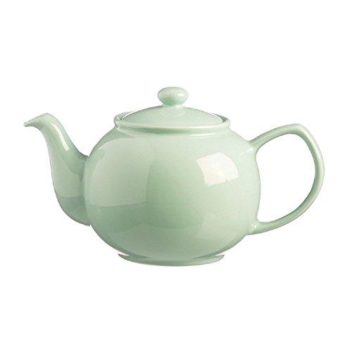 Price and kensington mint 2-cup tradizionale in gres fine teiera, ceramica, verde