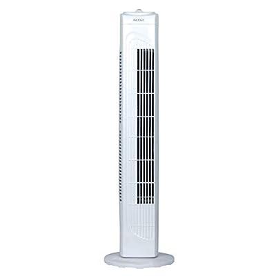 PRODEX PX5229B Oscillating Tower Fan, 29 Inch, 3 Speed Settings, Bladeless Design