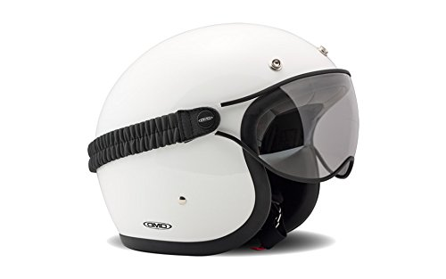 DMD Accessori per Casco Moto, Goggle Clear