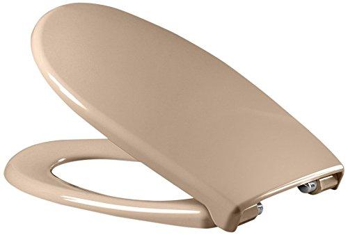 Sanifri 470011122 WC-Sitz Dilos beige, Soft-Close / einhändig abnehmbar, antibac, Made in Germany