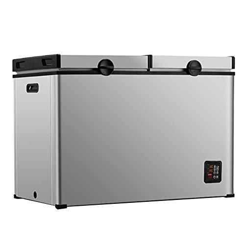 Mini frigo da viaggio per esterno portatile da 112 litri Grande capacità Mini frigorifero da tavolo con display digitale Funzionalità One-Touch Mini congelatore silenzioso per camion Partito