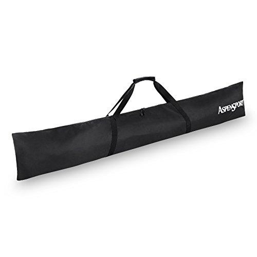 Aspen AS152012 Sport sacca da sci, portasci, sacca, Black, 190 x 32 cm
