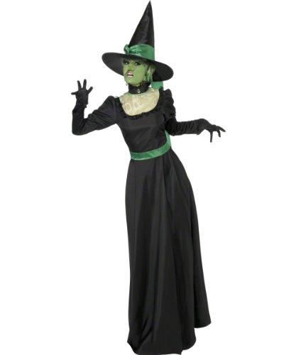 Imagen de smiffy's  disfraz de bruja para mujer, talla uk 8  10 33134s  alternativa