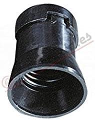 Solera 109N - Portalámparas e-27 4a 250v tipo feria negro