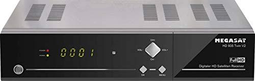 Megasat HD 935 Twin V2 HD-SAT-Receiver Aufnahmefunktion, Ethernet-Anschluss, Twin Tuner Anzahl Tuner